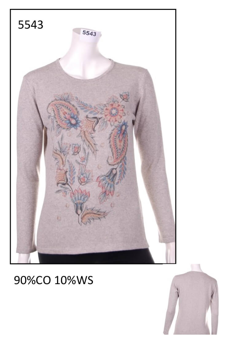 Sweater from woman code 5543