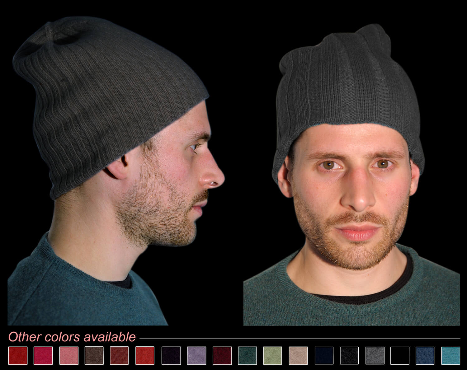 Man hat color anthracite code 119 and 298
