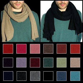 Composition: 95% cashmere (WS) and 5% other fibres (AF) or 100% cashmere (WS)
