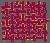 Textile samples - Bordeaux color