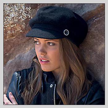 RL321 zowie biker cap. Material: 100% lambswool.