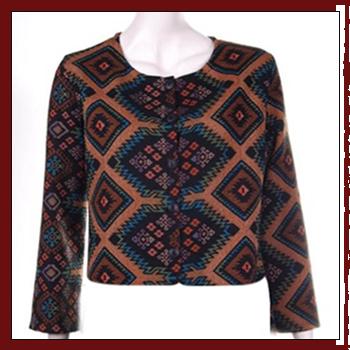 Woman knitwear - Fibers: 60% nylon (PA), 38% polyester (PL) and 2% elastam (EA)