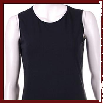 Woman T-shirts. Fibers: 95% viscose (VI) and 5% elastam (EA).