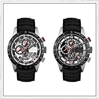 SH9117SLLBK and SH9117BKLBK watch Imperia. Material: stainless steel.