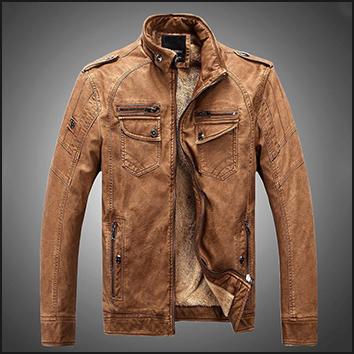 Man leather clothing