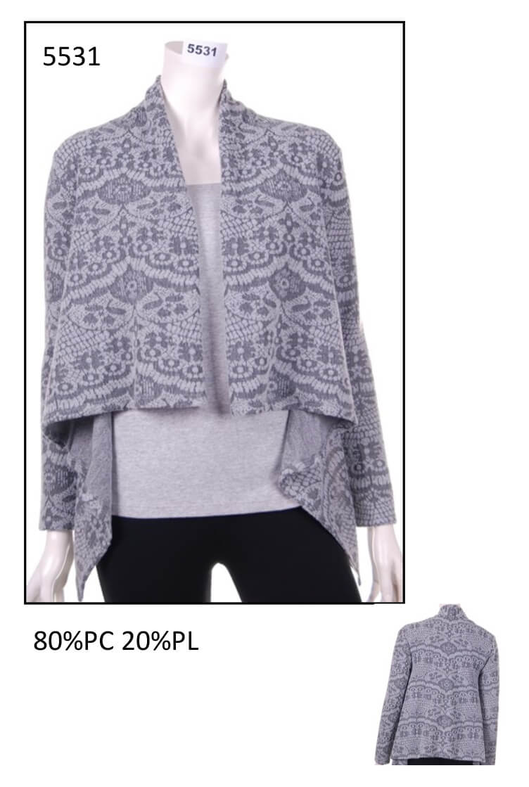 Cardigan from woman code 5531