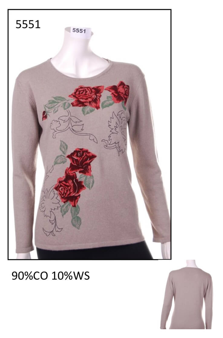 Sweater from woman code 5551