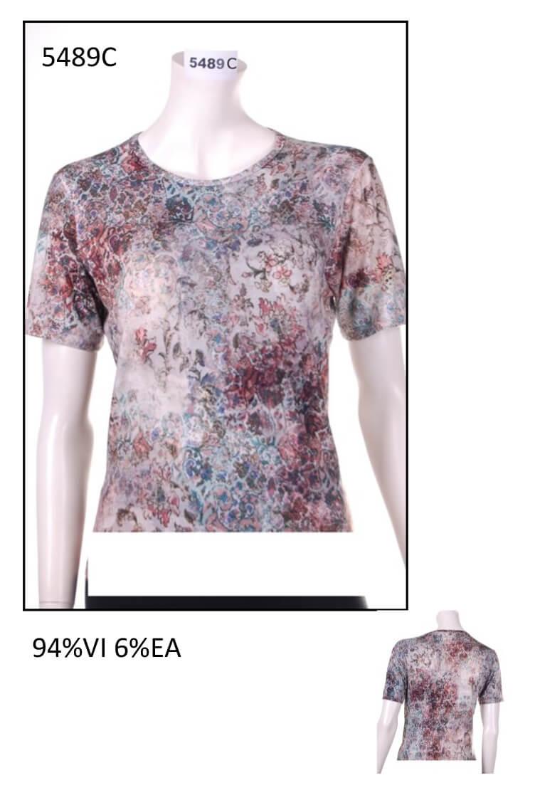 Woman t-shirt code 5489c