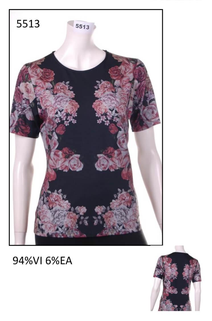 Woman t-shirt code 5513