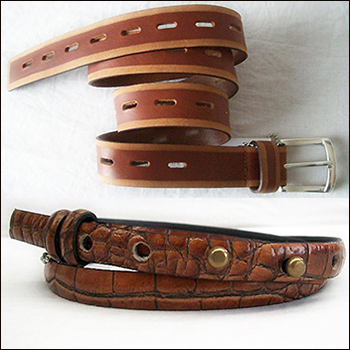 Belts<br />From 3 € upward