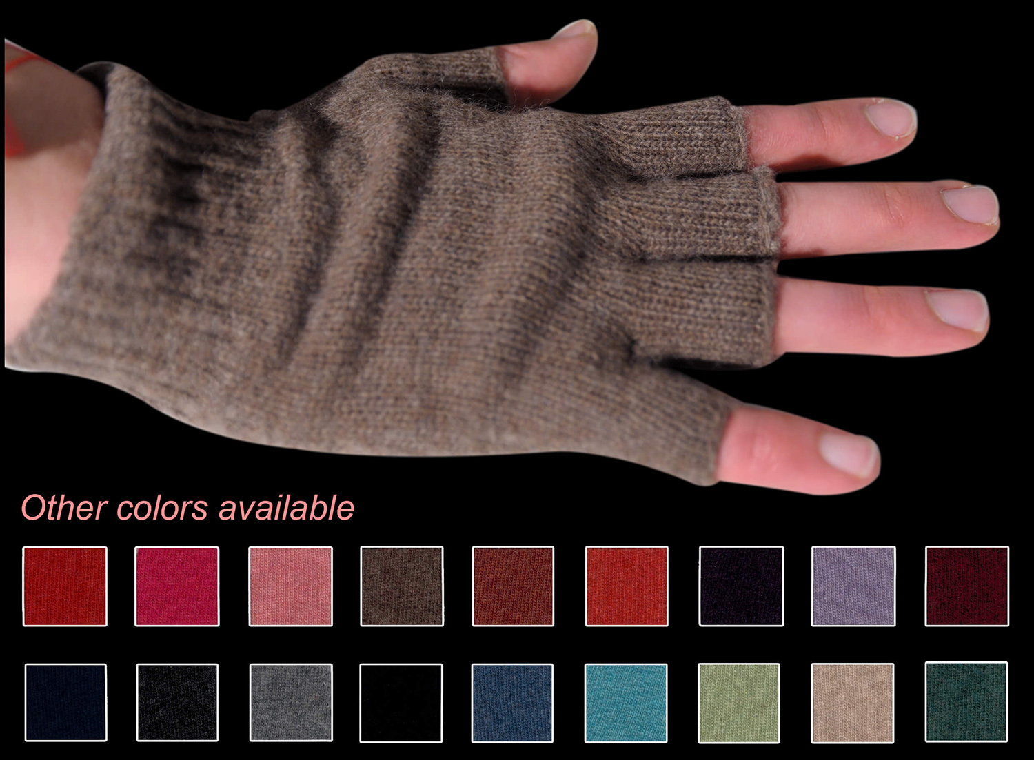 Man glove color tabacco code 263