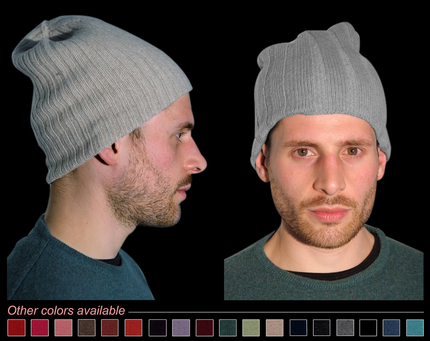 Man hat color grey code 119 and 298