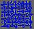 Textile samples - Blue color