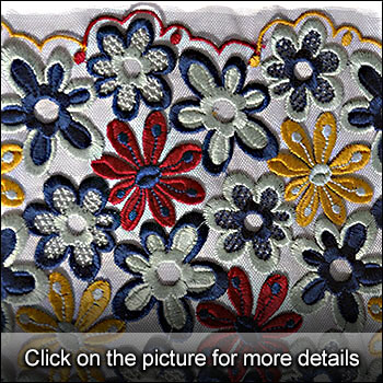 WRPPZV - R1/24254 - Multicolor embroidery.