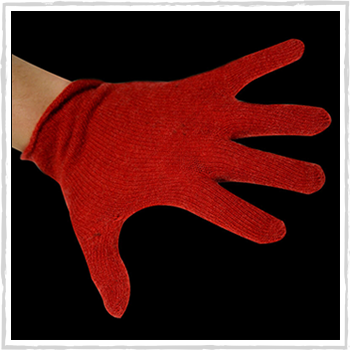 Man gloves color red code 261 (17,60 euro)