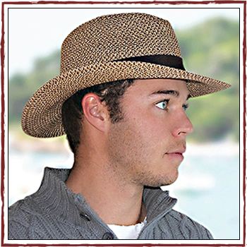 Man hats. Fibers: 50% polyester (PL) and 50% natural fiber (NF)