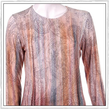 5506 woman sweater. Composition: 94% viscose (VI) and 6% elastam (EA).