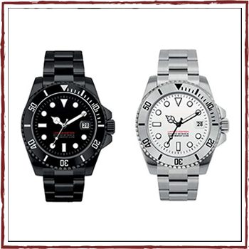 Limited Edition - Swiss watchs. Case: stainless steel, water resistant: 10 ATM and bracelet: stainless steel 20/18 mm.