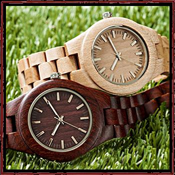 Швейцарские Watchs - Корпус и браслет: натуральное дерево.