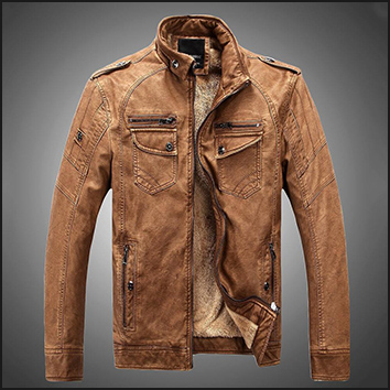 Man leather clothing